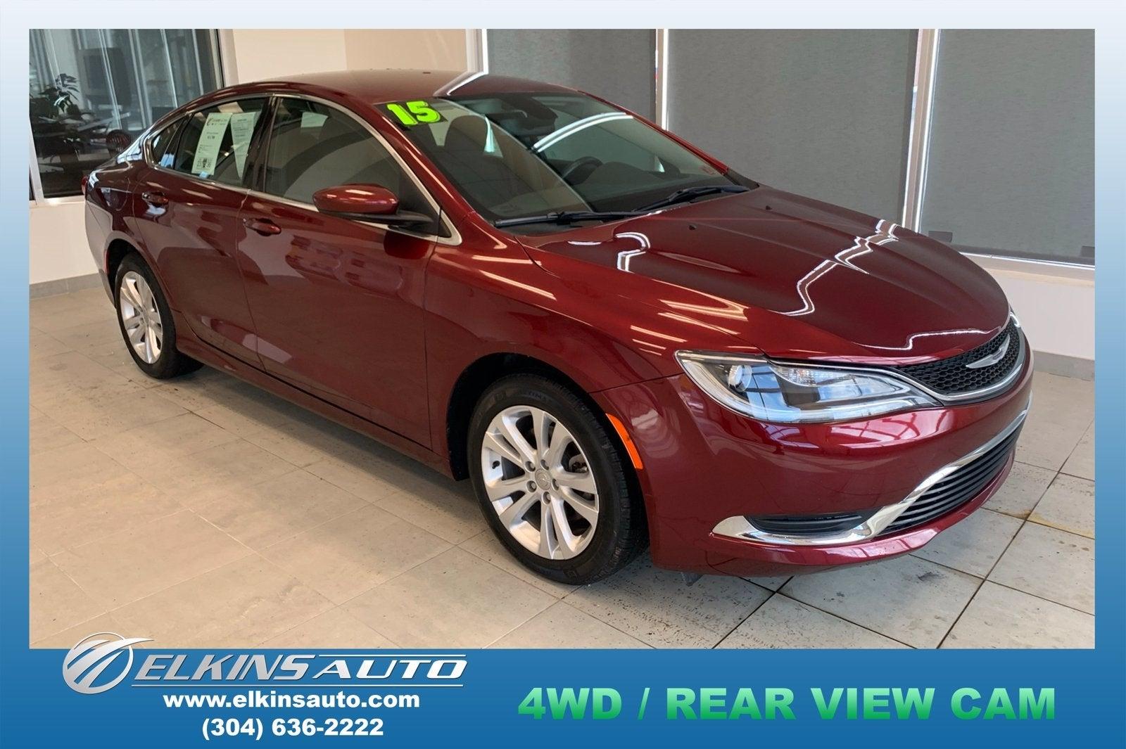 2015 Chrysler 200 Limited Red >> 2015 Chrysler 200 Limited